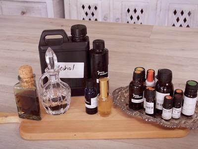 How to make Homemade Perfume Tutorial: 'Pure Joy' Blend