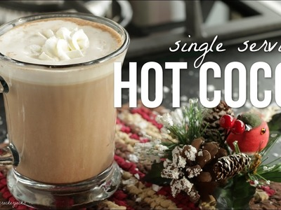 How to Make Hot Cocoa!! Hot Chocolate For One Recipe