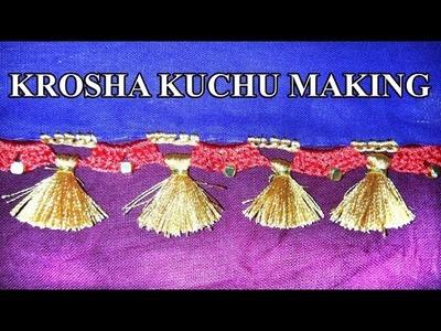 How to make Krosha Kuchu. (Design Code: 45702)