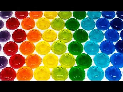 How to Make Rainbow Color Smile Pudding Jelly Learn the Recipe DIY
