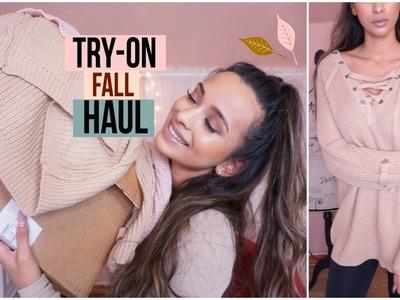 HUGE Try-On Fall.Winter HAUL | Romwe, Shein, Stylewe