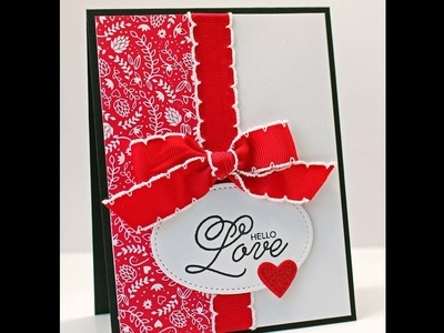 Kitchen Table Stamper 6x6 Wonder Recipe #1 featuring Stampin' Up! Sealed with Love