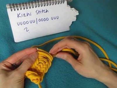 Kizhi Stitch - Nalbinding, Neulakinnas