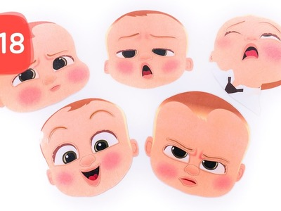 Learn Emotion and FacePart with Boss Baby Puzzle #18 - By MagicPang