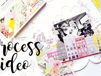 Let's Go Fly a Kite | Scrapbook Process Video
