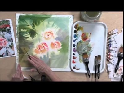 Loosen Up with Negative Painting Techniques for Watercolor Flowers--Preview
