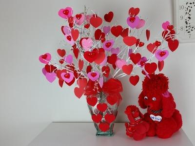 Lovely Valentine Heart tree. Very easy to make .