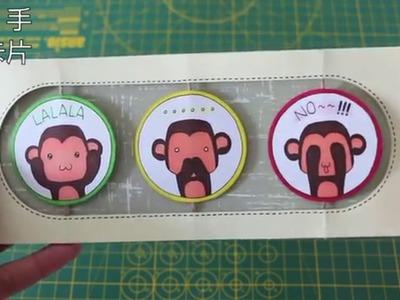 巧。手做卡片(Make Cards with Chiao)-新年旋轉賀卡教學(New Year Spinning Card Tutorial)