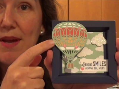 Make Your Own Shadowbox: Simple Steps with Up & Away Diecuts