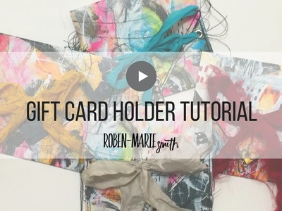 Make your own unique gift card holders with ease
