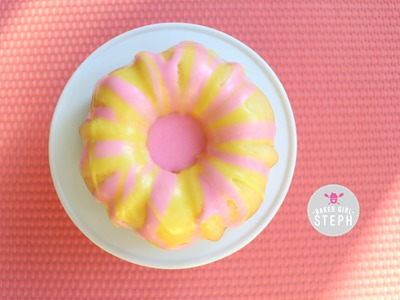 MINI PINK LEMONADE SWIRLED BUNDT CAKES