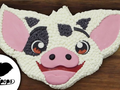 Moana: Pua Cake | Disney | How To