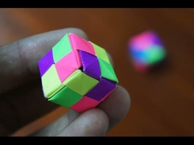 Modular Origami - How to make Modular Cube Origami (Version 1.4)