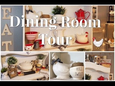 New Apartment Dining Room Tour | 2017