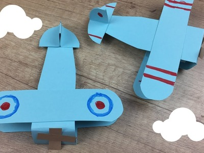 Paper Airplane craft | Easy DIY project for kids | Customize it with colours and flags