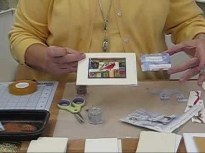 Paper Enamel Cardmaking with Susan Pickering Rothamel