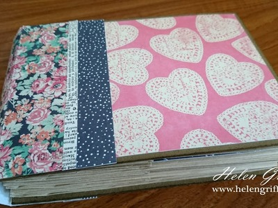 Paperbag Mini Album Tutorial | Beginner Friendly