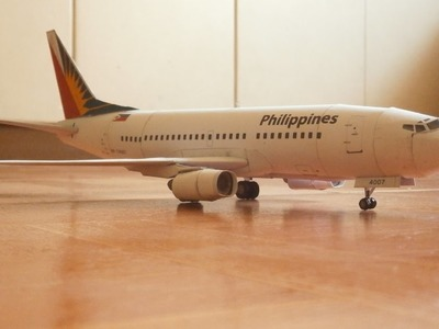 Papercraft Philippine Airlines B737-300 Model