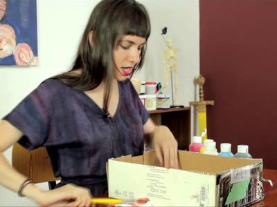 Preschool Crafts on the Solar System & the Earth : Preschool & Kindergarten Crafts