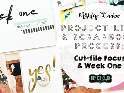 Project Life and Scrapbook Process | Hip Kit Club | April 2017
