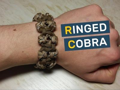 Ringed Cobra Paracord Bracelet