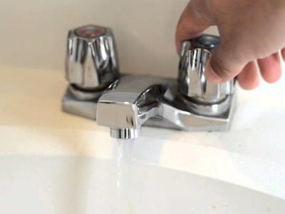 Sink - Saving water and money on your monthly water bill