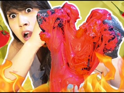 SPICIEST EDIBLE SLIME IN THE WORLD CHALLENGE + GIVEAWAY! (OVER 1 MILLION SCOVILLE)