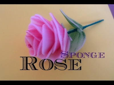 Sponge Rose - Step by Step
