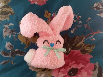 Spring bunny tutorial - socks + nail polish creative wrapping