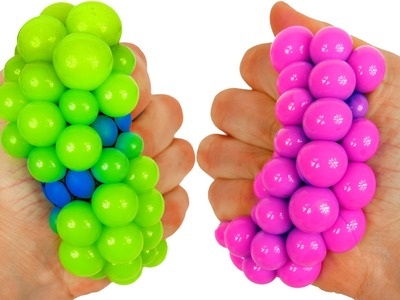 Squishy Stress Balls Learning Colors Video for Kids