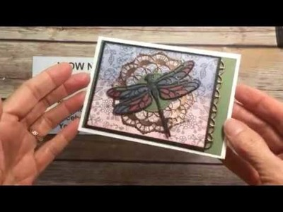 Stampin' Up! Detailed Dragonfly Notecard
