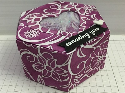 Stampin' Up! with Connie-Rae Window Box Thinlits You what Color?