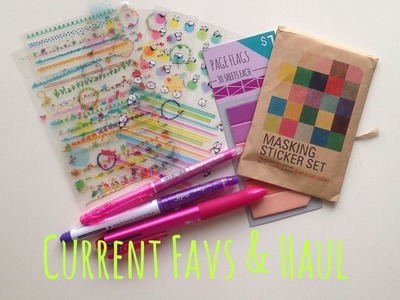 Stationary Favorites for the Month and Small Haul