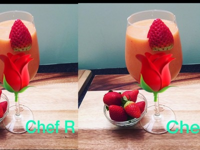SWEET - Valentine's Day Drink -Chef Ricardo Cooking