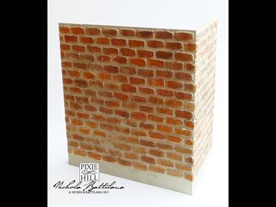 The Wandry Room with Brick Wall Tutorial