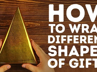 Tips to wrapping different shaped gifts this holiday l 5-MINUTE CRAFTS