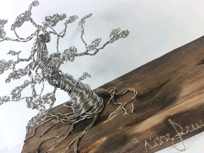 Tutorial - Wire Tree - stainless steel - Rick Wire Art