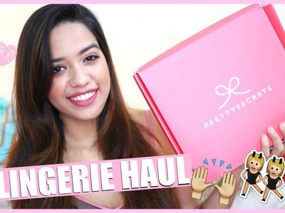 Valentine's Day Lingerie Haul Ft Pretty Secrets || Debasree Banerjee
