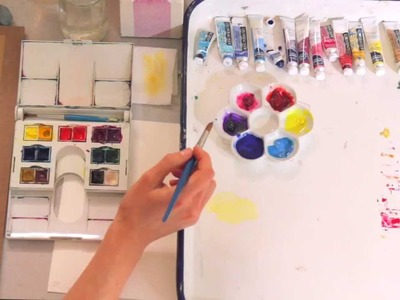 Watercolor 101: Mixing Your Colors