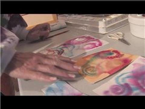 Watercolor Painting Tips & Techniques : Swirling Paint Technique Using Water