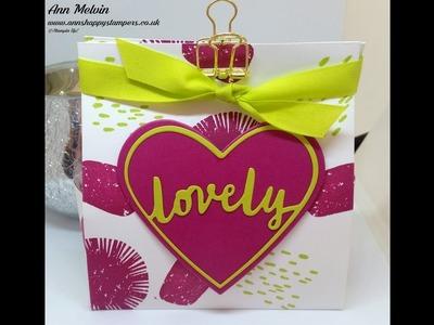 #2 New Catalogue Week Easy No Cut Fold Flat Gift Bag