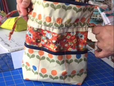 469-600-7818 Not Your Mama's Quilt Store. Learn to make this drawstring bag