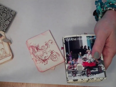52 Mini Albums Journals & Such; Project 30; Traveling Journal Part A