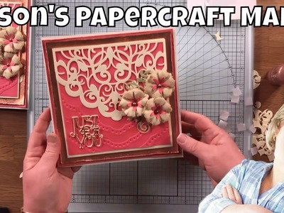 Alison's Papercraft Makes - Idyllics Die and Embossing Set