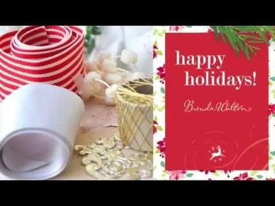 Brenda Walton's Merry & Bright Holiday Collection from Sizzix