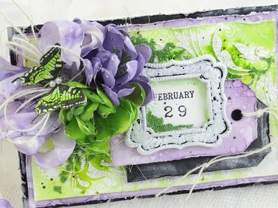 Card Series 107 - Lilac Leap Year