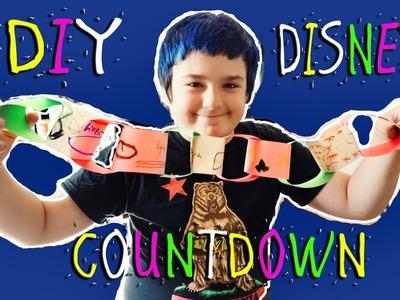 Cayden's DIY Countdown Chain to Disneyland (Daily #1025)
