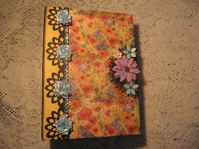 Combination Journal and Scrapbook Mini Album (Tutorial available)