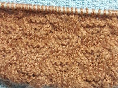 Complex and attractive woolen design in easier way sweater design bunai ke designs simple knitting