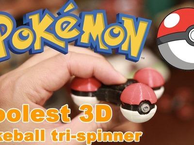 Coolest & Rare DIY 3D Print Pokeball pokemon fidget spinner review vs best spinners on amazon #66